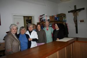 Das Caritas-Team der Stadtpfarre St. Nikolaus