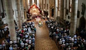 Trauergottesdienst am 8. Juni 2015 in der Stadtpfarrkirche