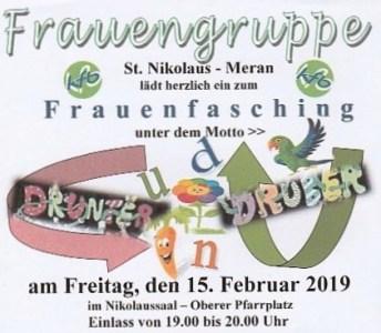 Frauenfasching 2019